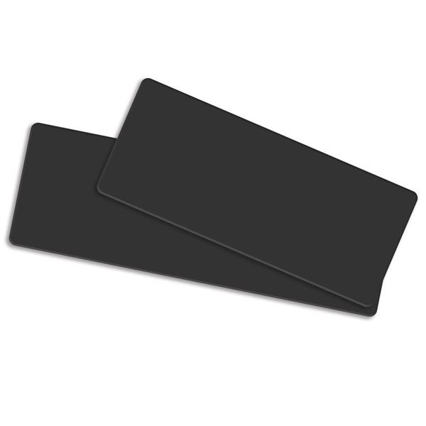 Picture of BLACK LONG FORMAT CARDS