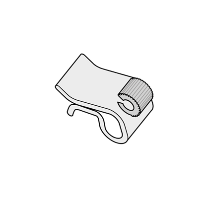 Image de CLIP DE JOINT POUR PLAQUES, PLATEAUX ET BOÎTES - ÉPAISSEUR DE 1 À 6 MM