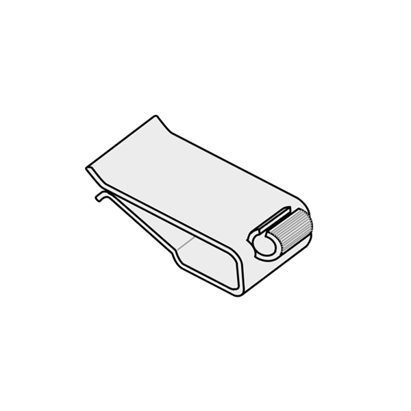 Picture of HINGE CLIP FOR PLATES, TRAYS AND BOXES - FOR THICKNESS 1 TO 12 MM