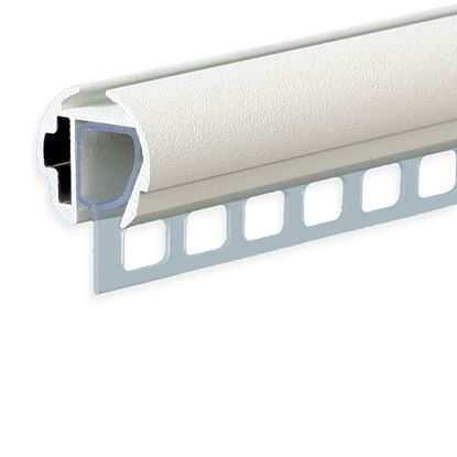 Picture of PUNCHED PVC PROFILE FOR FAST CLIP RAIL