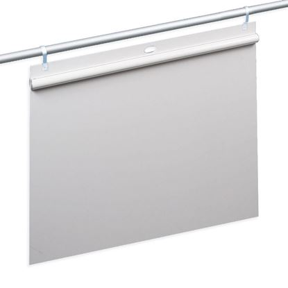 Picture of PVC PANEL WITH SEMI-CIRCULAR FAST CLIP RAIL