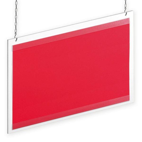 Immagine di PANNELLO IN PVC CON GUIDE TRASPARENTI