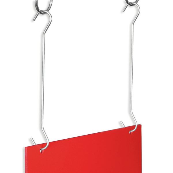 "Picture of DOUBLE-ENDED ""C"" SHAPED WIRE HANGING HOOK"