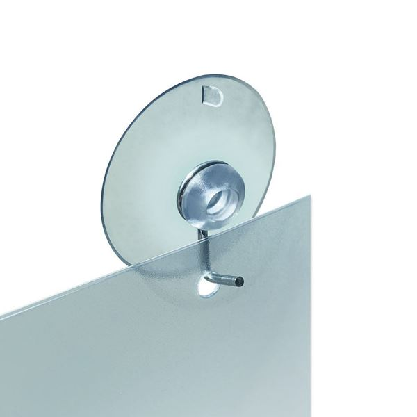 Picture of SUCTION CUP WITH METAL HOOK (TRANSPARENT)
