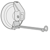Picture of SUCTION CUP WITH METAL HOOK (WHITE)