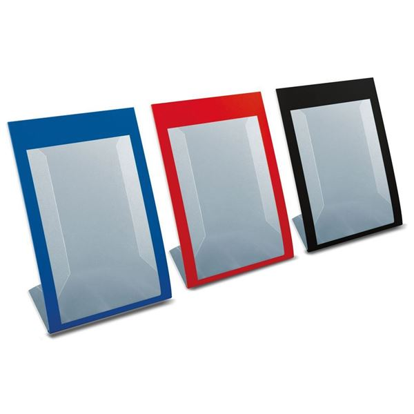 "Picture of SLIM ANGLED ""L"" SHOWCARD HOLDERS WITH FRAME"
