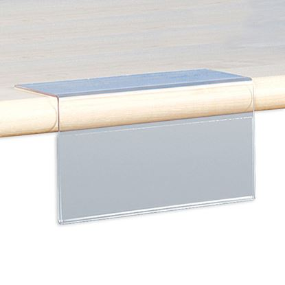 Picture of FOLDED TICKET HOLDER WITH TAPE - ANGLE 90°