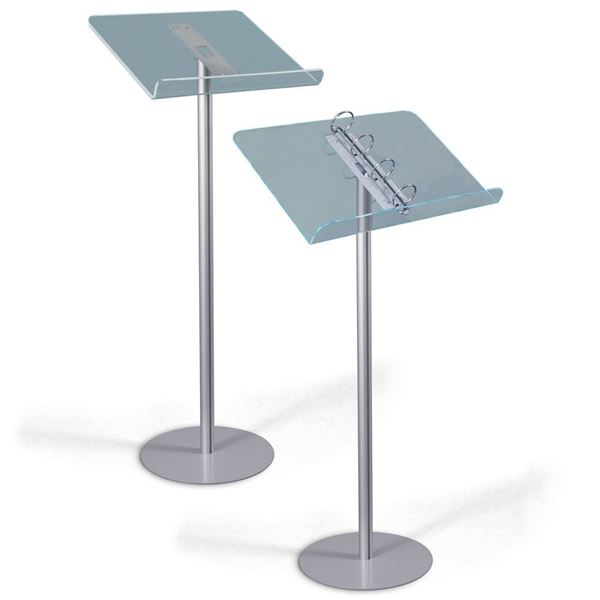 Picture of READING STAND WITH RECTANGULAR TOP - LIGHT BASE