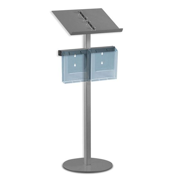 Picture of READING STAND WITH RING BINDER, METAL TOP SURFACE