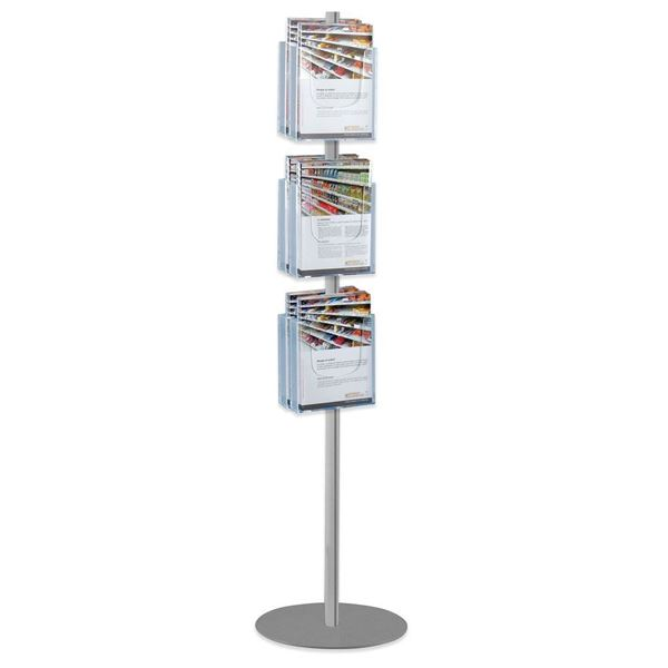 Picture of STAND WITH 6 A4 PORTRAIT BROCHURE HOLDERS - DOUBLE SIDED