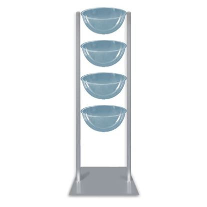 Picture of MULTIPLE FLOOR STAND WITH 4 HALF-SPHERES