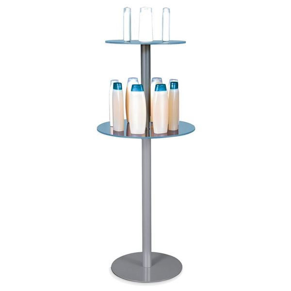 Picture of STAND WITH ADJUSTABLE TRANSPARENT SHELVES