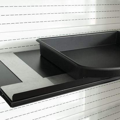 "Picture of STRUCTURE FOR TRAYS ""KREACTIVA"" ON EXISTING SHELF"