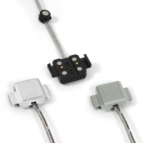"Picture of SPLICE CONNECTOR FOR POWER TRACK ""SLIM"""